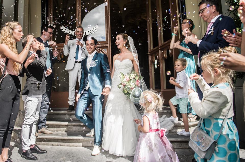 Bruidsfotografie Kasteel de Schaffelaar   Jonathan en Arianne