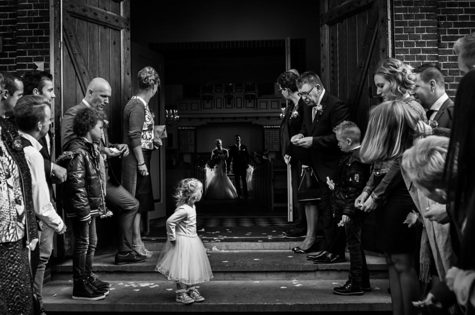Bruidsfotografie Hoefslag Barneveld | Aart en Debbie